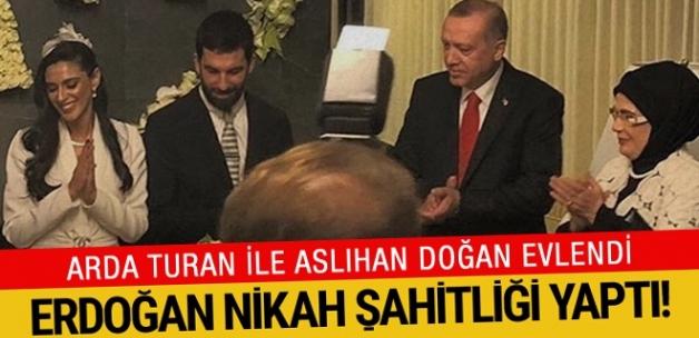 Arda Turan ile Aslıhan Doğan evlendi!