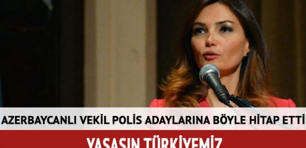 Azerbaycanlı vekil: Yaşasın Türkiyemiz