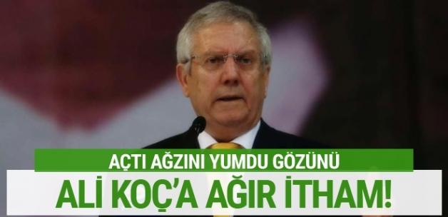 Aziz Yıldırım'dan Ali Koç'a ağır itham!