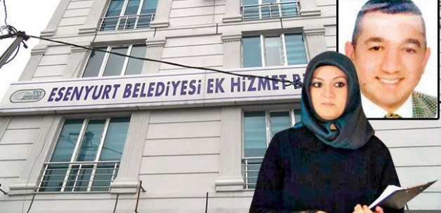 Belediye binasında yasak aşk dehşeti