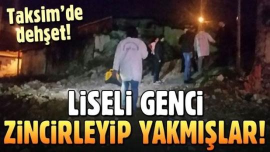 Beyoğlu'nda korkunç olay: 18 yaşındaki liseli yakılmış olarak bulundu