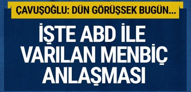 Çavuşoğlu'ndan flaş Afrin ve ABD açıklaması! Yağma var mı?..