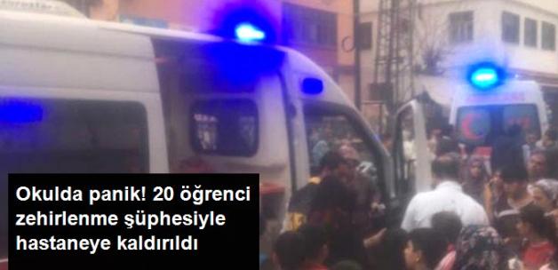 Diyarbakır'da 20 Öğrenci, Zehirlenme Şüphesi İle Hastaneye Kaldırıldı