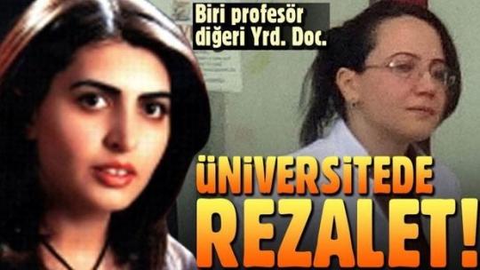 Erzurum'da kadın öğretim üyeleri, 'cihaz' tartışmasından karakolluk oldu