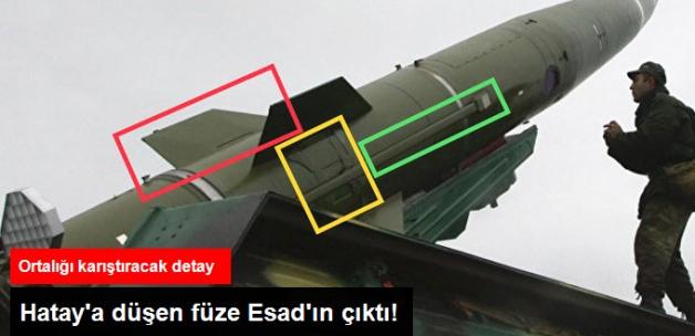 Hatay'da Karakol Yakınına Düşen Füze, Esad Güçleri Tarafından Atıldı