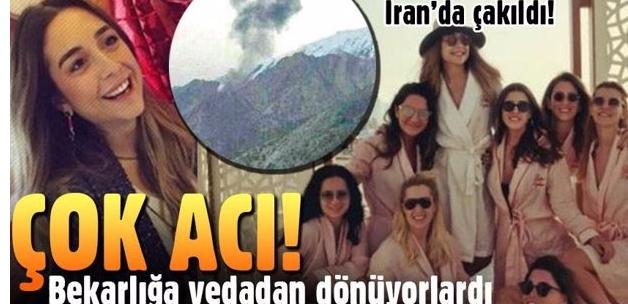 Hüseyin Başaran'ın kızı Mina Başaran'ın jeti düştü
