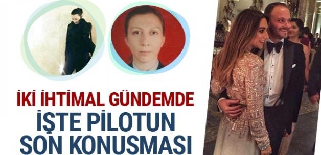 İran'da düşen Türk jetindeki pilotun kuleyle son konuşması ortaya çıktı