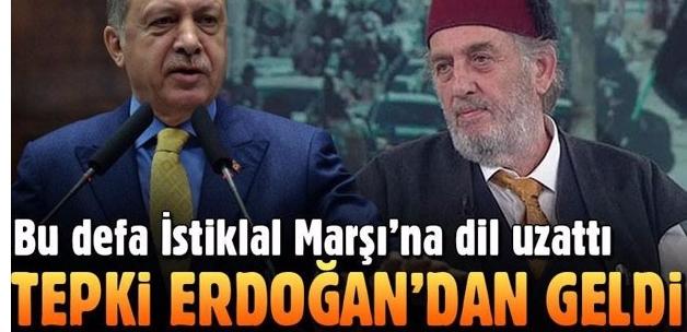 Kadir Mısıroğlu şimdi de İstiklal Marşı'na dil uzattı! Yanıt Erdoğan'dan geldi