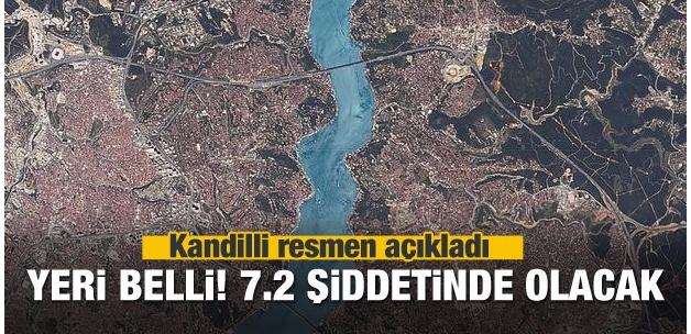 Kandilli açıkladı: İstanbul depreminin yeri belli