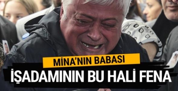 Mina Başaran'ın babası Hüseyin Başaran'ın bu görüntüsü