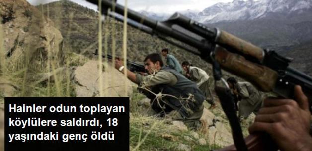 PKK'lı Teröristler, Odun Toplamaya Giden Köylülere Ateş Açtı, 18 Yaşındaki Genç Hayatını Kaybetti