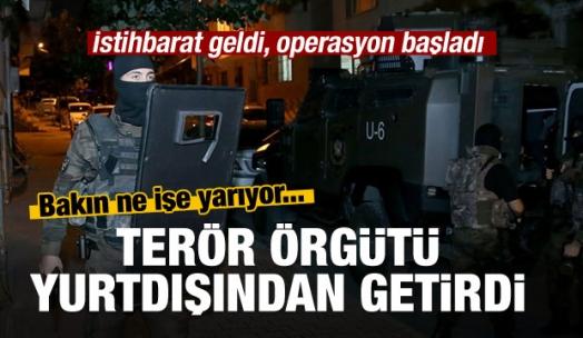 PKK'nın füze malzemeleri ele geçirildi!