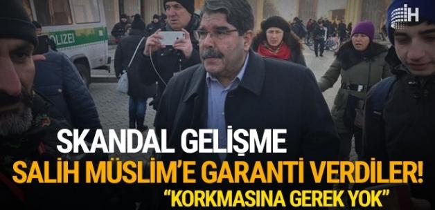 Skandal gelişme: Salih Müslim'e garanti verdiler! 'Korkmasına gerek yok'