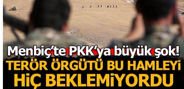 Son dakika: Menbiç'te köylüler terör örgütü PKK'yı kovdu!