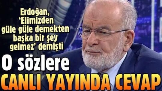 Temel Karamollaoğlu'dan Cumhurbaşkanı Erdoğan'a ittifak yanıtı