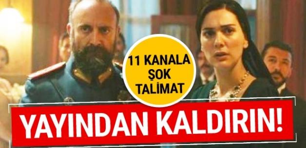 Türk dizilerini yayından kaldırıyorlar! Tam 6 dizi...