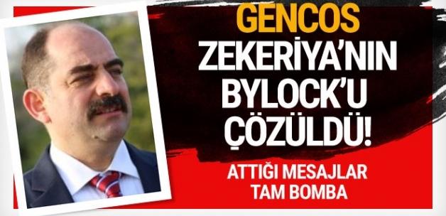 Zekeriya Öz'ün Bylock mesajları çözüldü! Tam bomba...