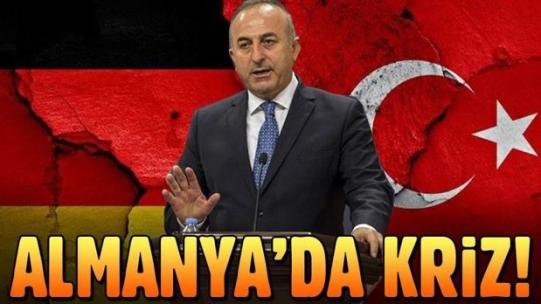Almanya'dan skandal karar: Çavuşoğlu'nun konuşma yapması yasaklandı