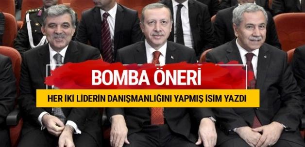 Erdoğan Arınç görüşmesi sonrası dikkat çeken öneri