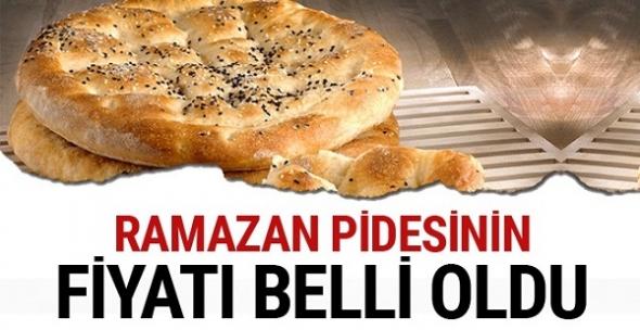 Ramazan pidesinin fiyatı belli oldu!