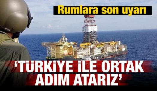 Rumlara son uyarı! Türkiye ile ortak adım atarız