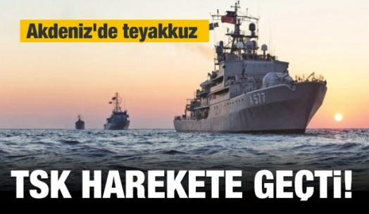 TSK harekete geçti! Akdeniz'de teyakkuz