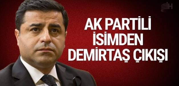 AK Parti'den dikkat çeken Demirtaş açıklaması!