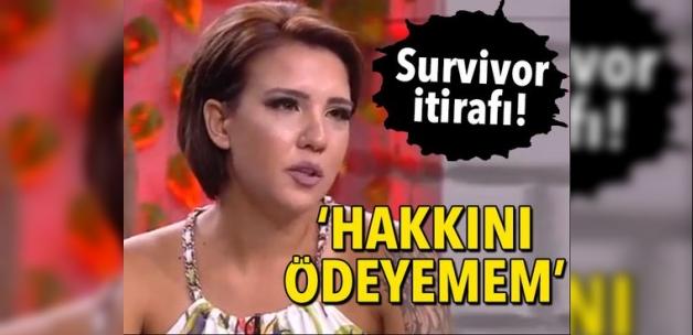 Elif Şadoğlu'ndan Survivor itirafı! 'Hakkını ödeyemem'