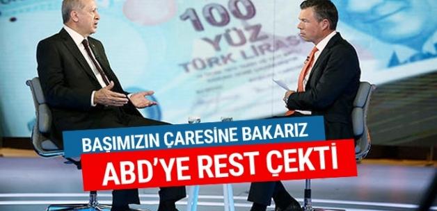 Erdoğan ABD'ye rest çekti başımızın çaresine bakarız