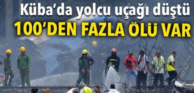 Küba'da Boeing 737 tipi yolcu uçağı yere çakıldı