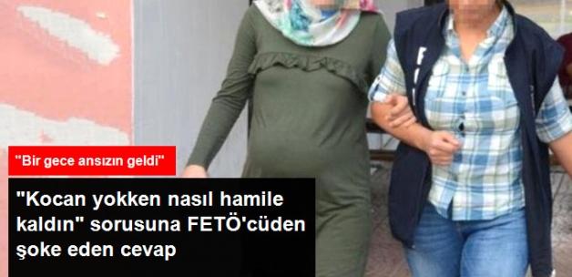 Mahkeme Başkanı İle 2 Yıldır Firari Olan FETÖ'cü Kocanın Hamile Eşi Arasında ilginç Diyalog!