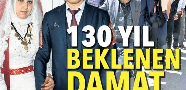 Sivas'ta bir aile 130 yıl sonra ilk kez gelin verdi