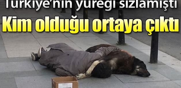 Türkiye'nin yüreği sızlamıştı! Köpeğe sarılarak uyuyan gencin kim olduğu ortaya çıktı...
