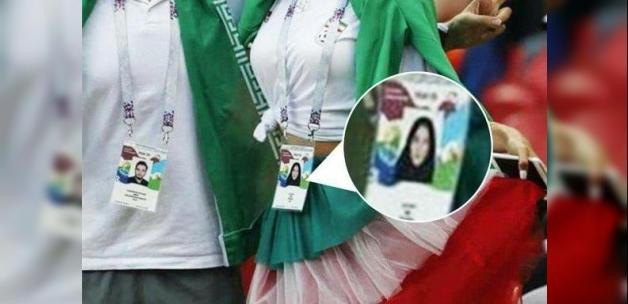 Dünya Kupası'ndaki İranlı kadın sosyal medyayı yıktı!