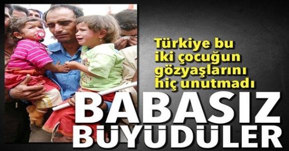 Türkiye bu iki çocuğun gözyaşlarını hiç unutmadı! Babasız büyüdüler...