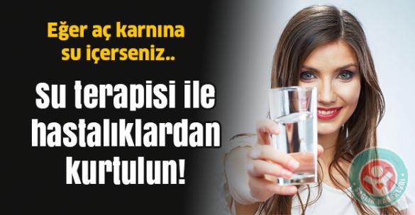 Aç karnına su içerseniz.✅ NOT: Suyu aldıktan sonra 45 dakikalık bir şey yemeyin. Sıcak su terapisi sağlık problemlerini makul bir süre içinde çözecektir: