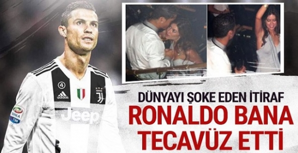 Dünyayı şoke eden itiraf: Ronaldo bana tecavüz etti! Dizlerinin üstüne çöktü ve...