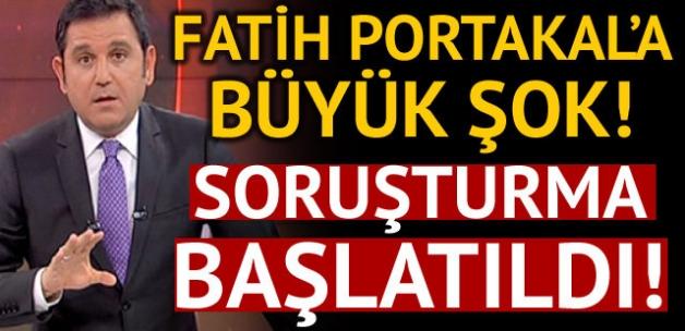 Fatih Portakal'a büyük şok! 'Cumhurbaşkanına hakaret' suçundan soruşturma başlatıldı...