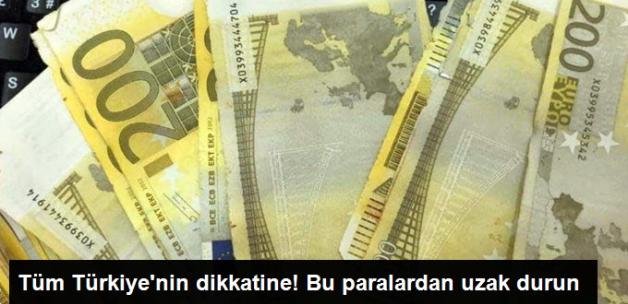 Kaçırılan Paralar Piyasaya Sürülmeye Çalışıyor