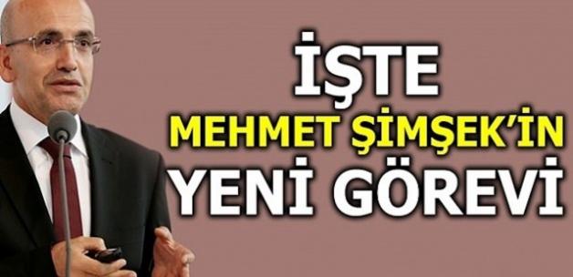 Mehmet Şimşek'in Yeni Görevi.