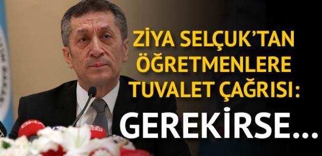 Milli Eğitim Bakanı Ziya Selçuk'tan dikkat çeken sözler...