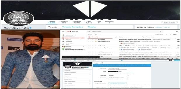 Rannvijay Singha ka Twitter account Ayyildiz Tim taraf se hack kiya hai!
