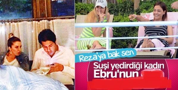Reza Zarrab'ın yanındaki kadının kimliği ortaya çıktı