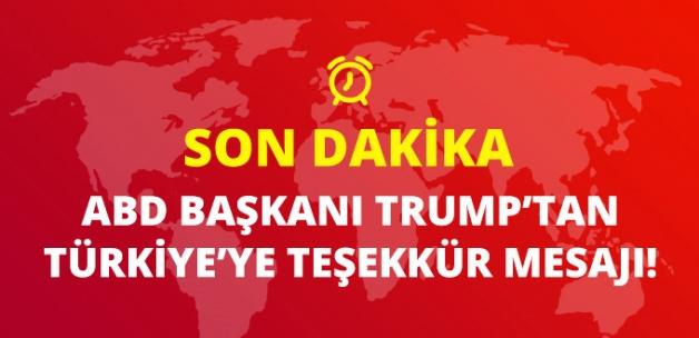 Son Dakika! ABD Başkanı Trump: İdlib'deki Çözümden Dolayı Türkiye'ye Teşekkür Ediyorum