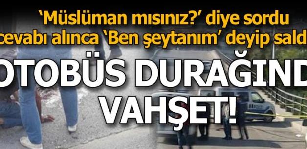 Son dakika: Ankara'da dehşet anları! Ben şeytanım deyip saldırdı
