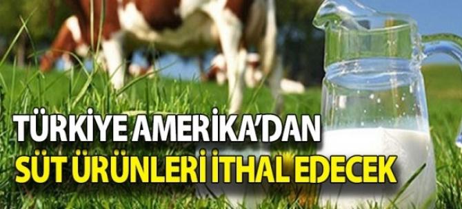 Sütümüz de artık Amerikan oluyor...