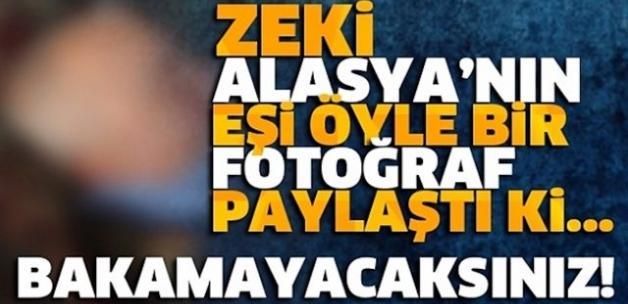 Zeki Alasya'nın Eşinin Paylaştığı Fotoğraf