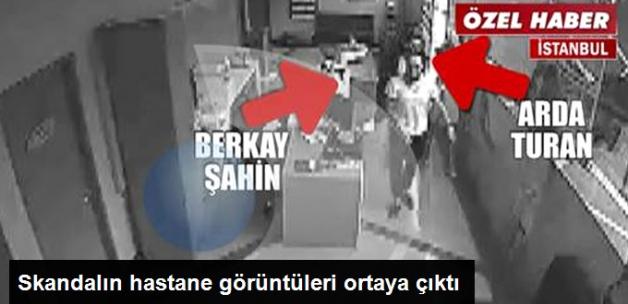 Arda Turan - Berkay Şahin Kavgasının Hastane Görüntüleri Ortaya Çıktı!