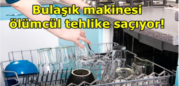 Bulaşık Makinesindeki Te-hli-ke