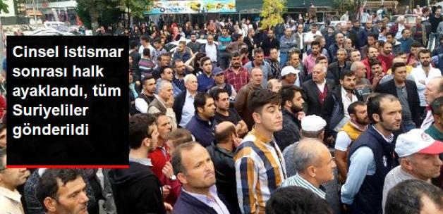 Denizli'de Suriyeli gerginliği! Halk ayaklandı tüm Suriyeliler gönderildi!